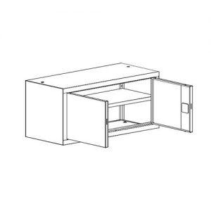 Kancelářská skříň SBM-403 M nadstavba