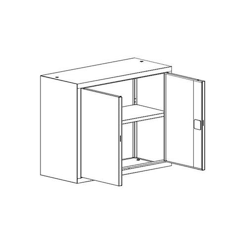 Kancelářská skříň SBM-802 M nadstavba