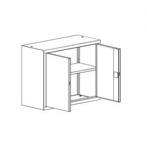 Kancelářská skříň SBM-803 M nadstavba