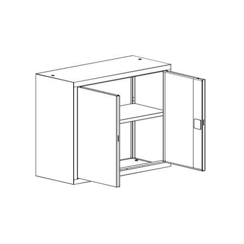 Kancelářská skříň SBM-804 M nadstavba 1