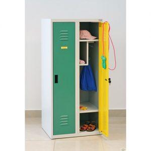 Kovová šatní skříň SUMS-320p