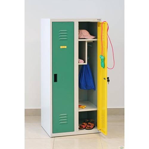 Kovová šatní skříň SUMS-320p 1