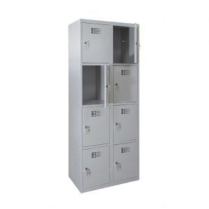 Kovová šatní skříň SUS-324 W